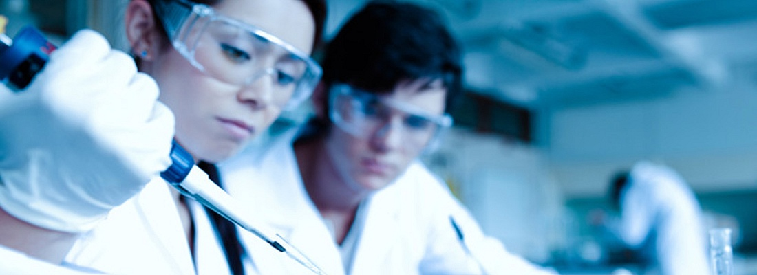 laboratory technicians testing samples
